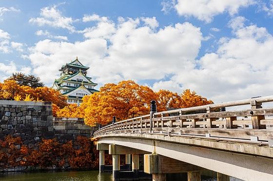 Japan_Osaka Castle_560X373