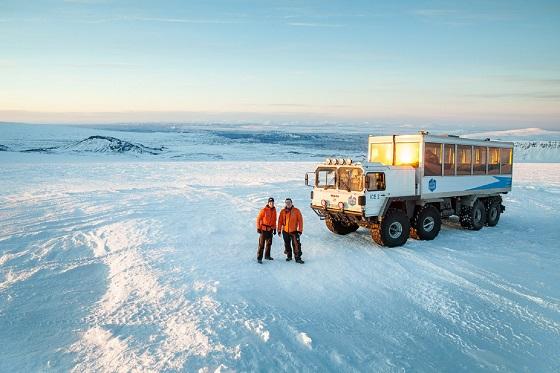 Langjokull Glacier 560x373