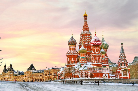 Russia_Moscow_Red Square1_Russia_St. Basil Cathedral__560X373